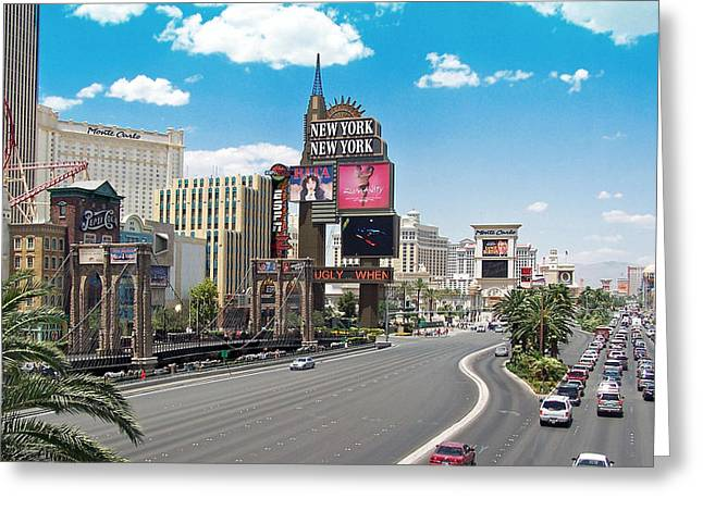 Las Vegas Greeting Card