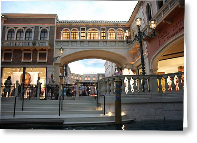 Las Vegas - Venetian Casino - 121246 Greeting Card