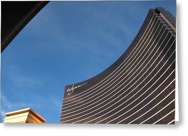 Las Vegas - Wynn Casino - 121211 Greeting Card by DC Photographer