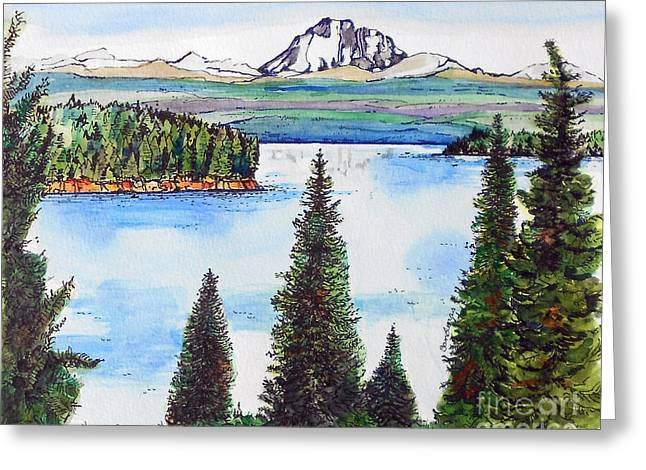 Lassen And Almanor Greeting Card