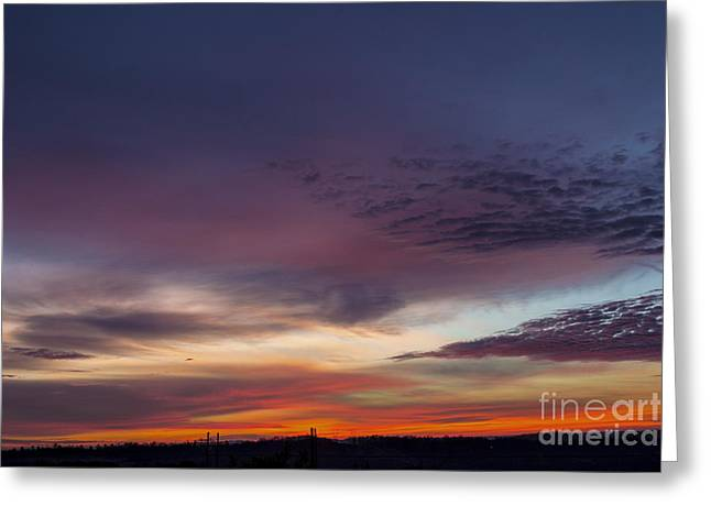 Last 2012 Sunrise Greeting Card