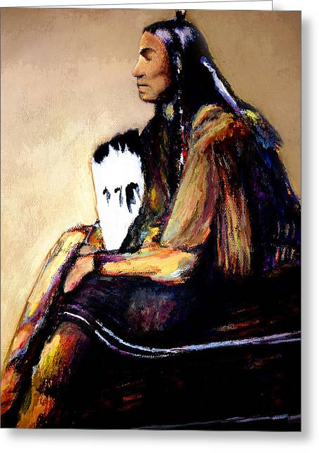 Quanah Parker- The Last Comanche Chief Greeting Card
