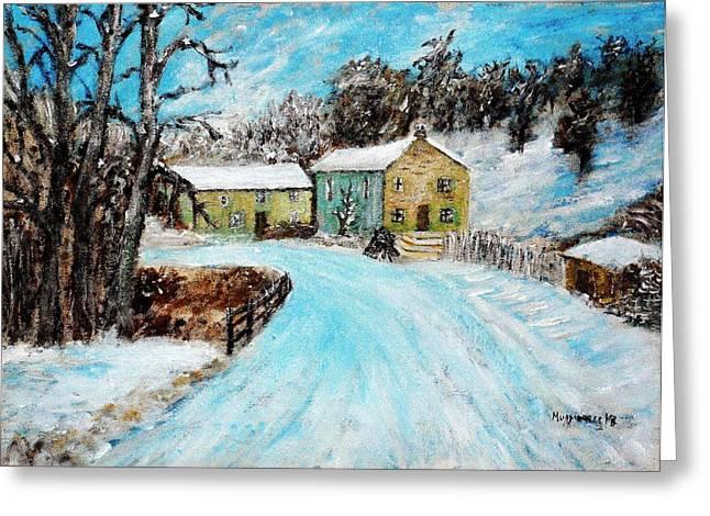Last Days Of Winter Greeting Card by Mauro Beniamino Muggianu