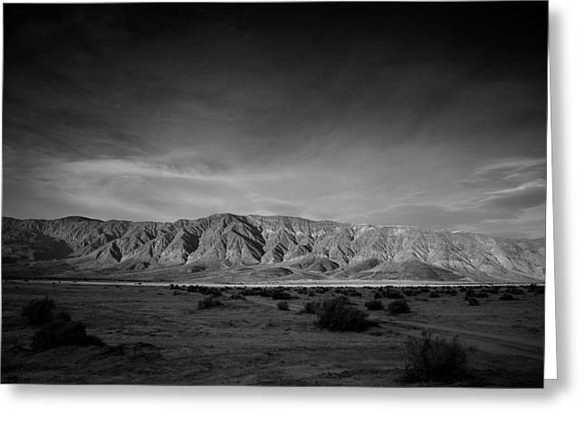 Last Light Greeting Card by Peter Tellone