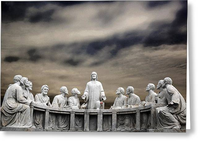 Last Supper Baltimore Maryland 2008 Greeting Card by John Hanou