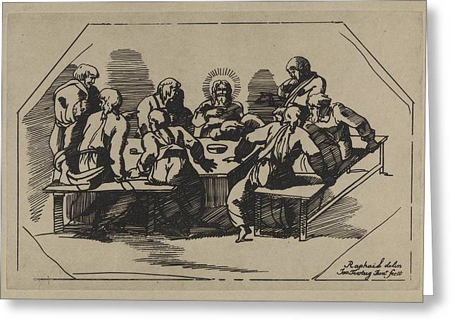 Last Supper, Jan Tersteeg Greeting Card by Artokoloro