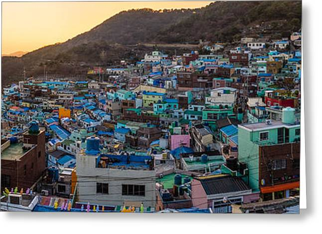 Late Afternoon In Gamcheon Greeting Card