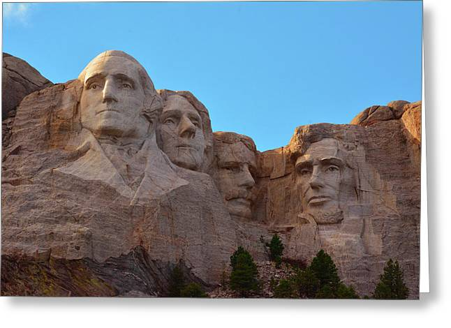 Late Afternoon, Mount Rushmore National Greeting Card