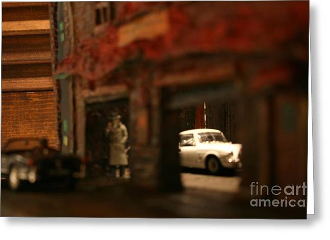Late Evening Pick-up Greeting Card by William Bezik