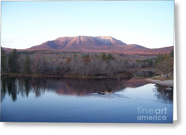 Late Fall At Abol Bridge Greeting Card by Joseph Marquis