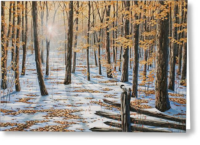 Late Fall Early Winter Greeting Card