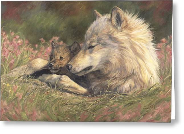 Late Spring Greeting Card by Lucie Bilodeau