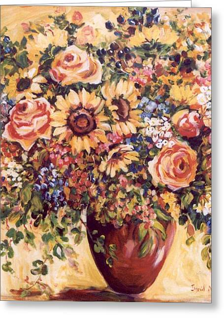Late Summer Bouquet Greeting Card