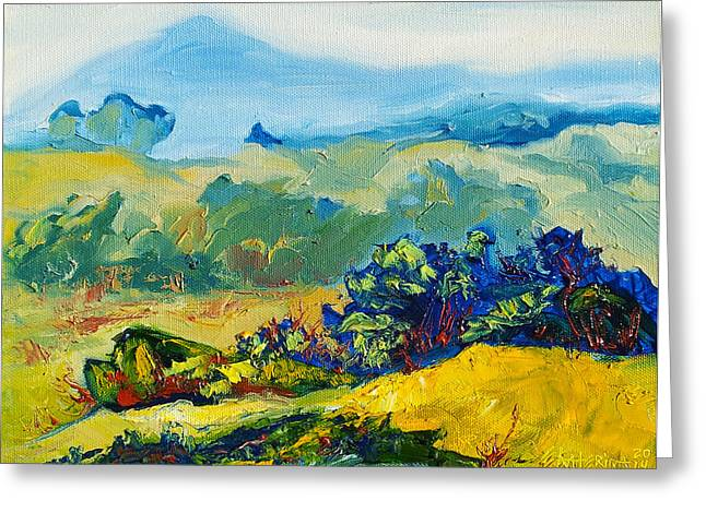 Late Summmer Landscape Greeting Card