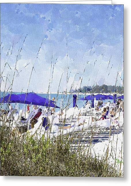 Late Winter Early Spring When Everybody Goes To Florida Greeting Card
