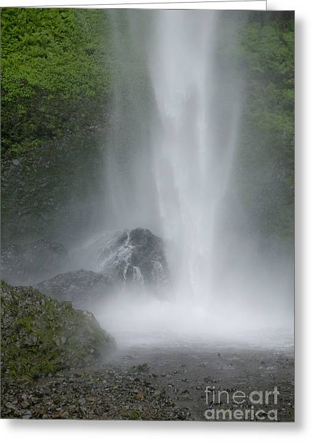 Latourelle Falls 2 Greeting Card by Rich Collins