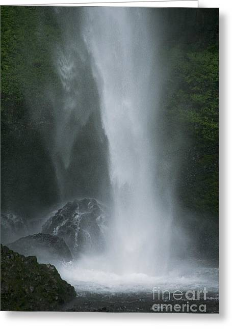 Latourelle Falls 5 Greeting Card by Rich Collins