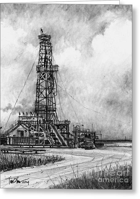 Latshaw Rig #8 Greeting Card