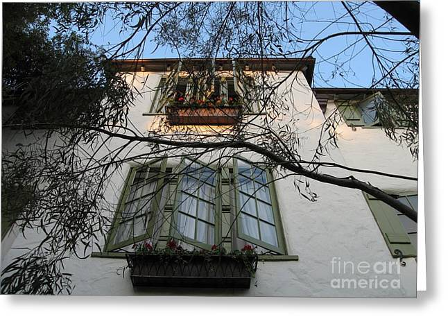 L'auberge Facade Greeting Card