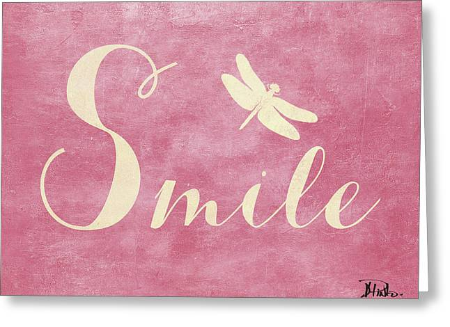 Laugh And Smile II Greeting Card by Patricia Pinto
