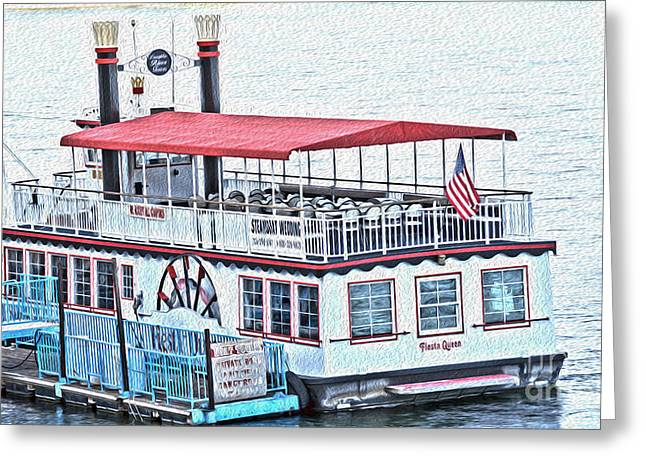 Laughlin Riverboat Greeting Card