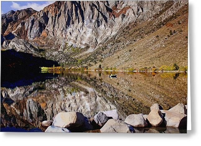 Laural Mountain Convict Lake California Greeting Card