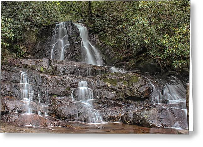 Laurel Falls - Great Smoky Mountains National Park Greeting Card