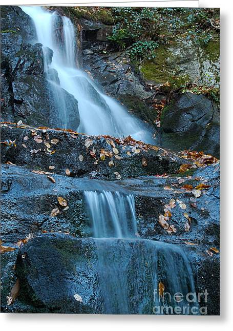 Greeting Card featuring the photograph Laurel Falls by Patrick Shupert