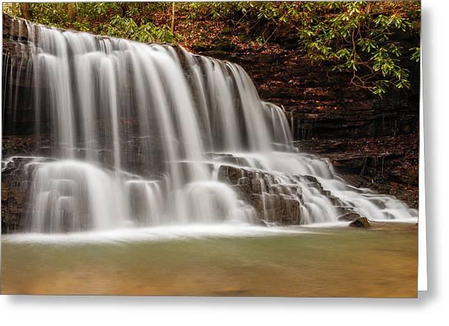 Laurel Run Falls Tn Greeting Card