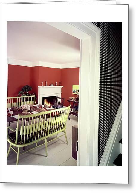 Laurens W. Macfarland's Dining Room Greeting Card