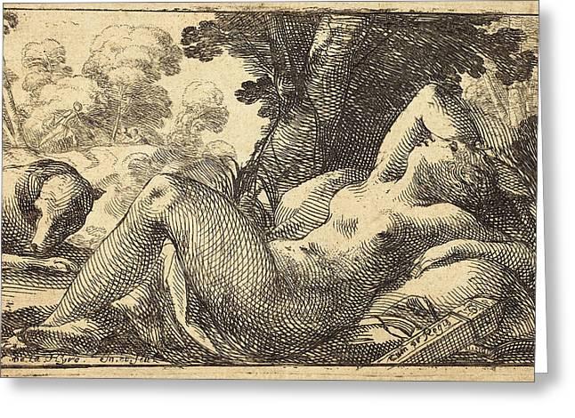 Laurent De La Hyre French, 1606 - 1656 Greeting Card by Quint Lox