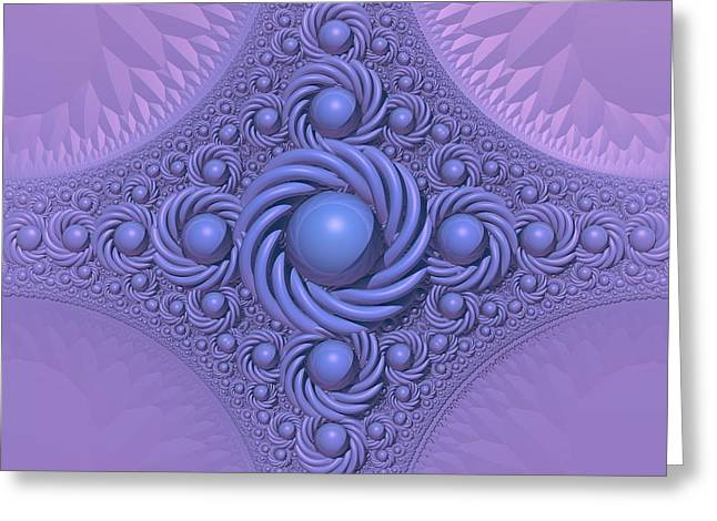Lavender Beauty Greeting Card by Lyle Hatch