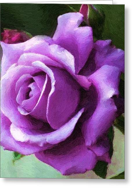 Lavender Lady Greeting Card