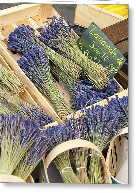 Lavender Of Provence Greeting Card by Karma Boyer
