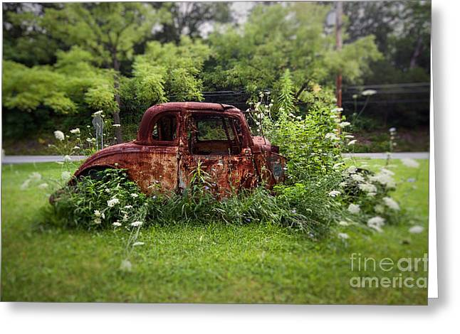 Lawn Ornament Greeting Card