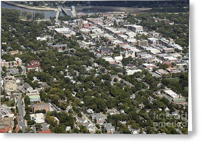 Lawrence Kansas Greeting Card by Bill Cobb