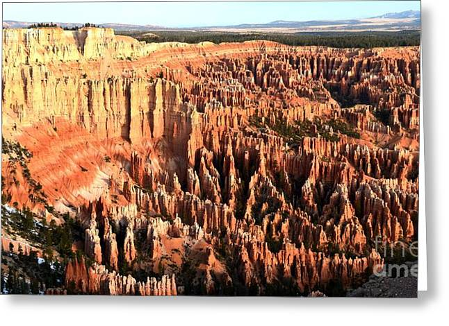 Layered Hoodoos At Bryce Canyon National Park Greeting Card by Rincon Road Photography By Ben Petersen