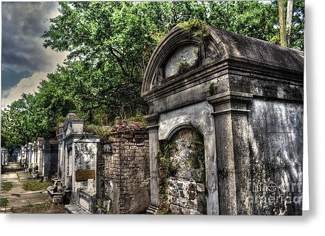 Layfayette Cemetery New Orleans Greeting Card