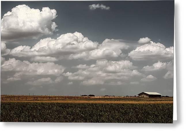 Lbj Ranch In Texas Greeting Card by Joan Carroll