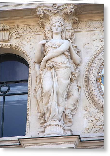 Le Belle Epoch In Paris Greeting Card by Ken Boyd