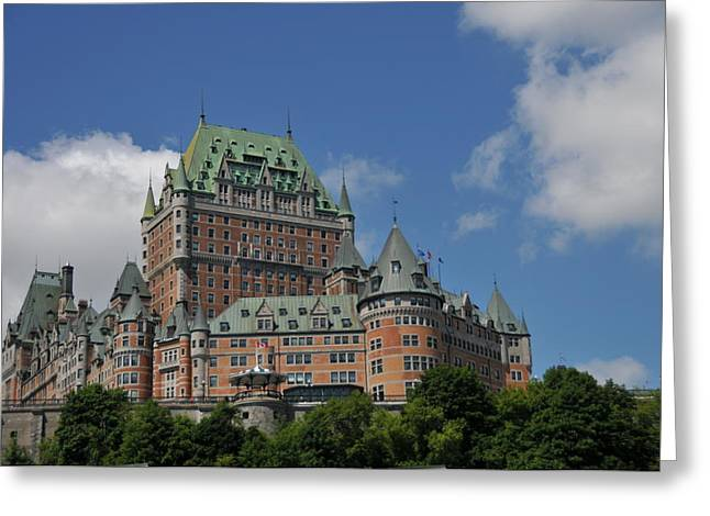 Le Chateau Frontenac  -- Quebec City Greeting Card