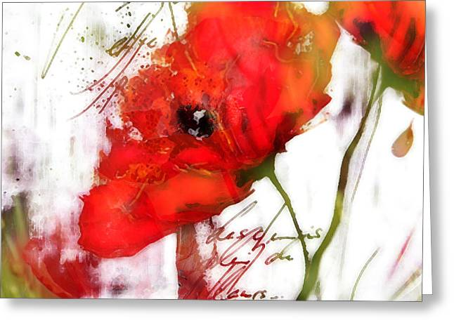 Le Coquelicot ... Greeting Card