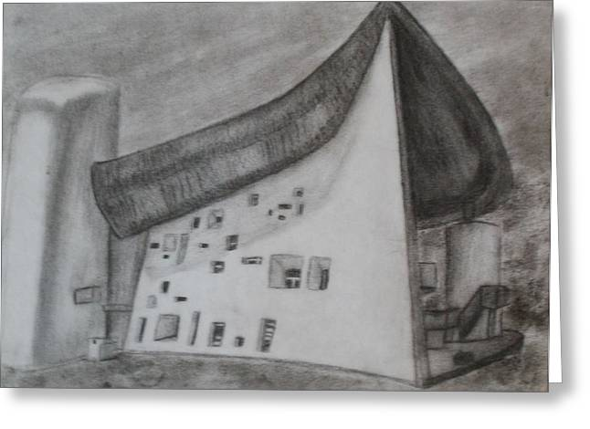 Le Corbusier Greeting Card