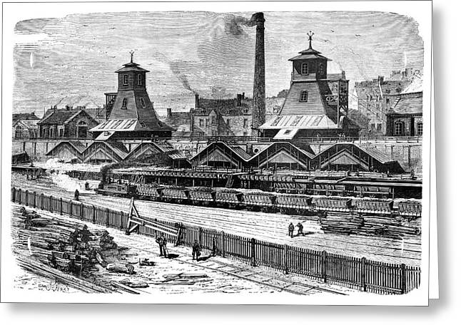 Le Creusot Coal Mines Greeting Card by Science Photo Library