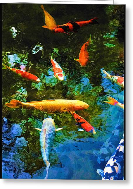 Le Koi De Matisse Greeting Card
