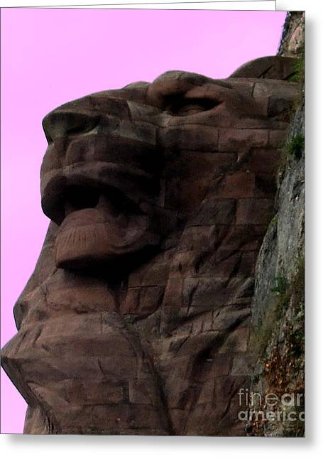 le Lion de Bartholdi Greeting Card