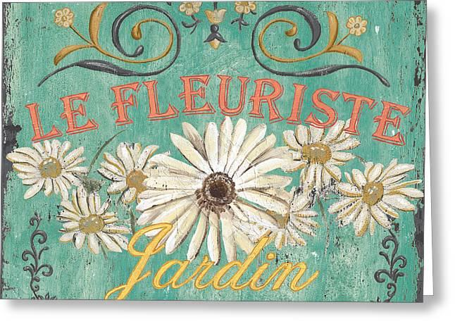 Le Marche Aux Fleurs 6 Greeting Card