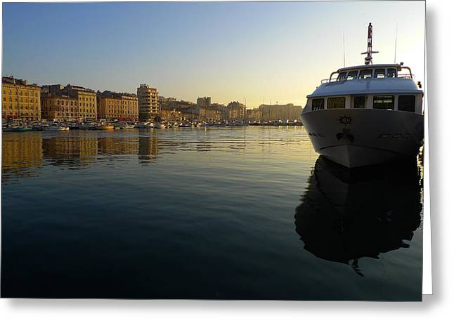 Le Vieux Port Marseille Greeting Card