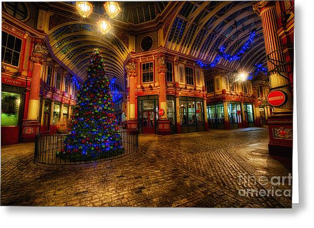 Leadenhall Market Hdr 03 Warm Greeting Card by Jack Torcello