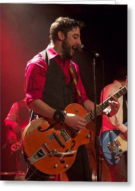 Leader Band Marco Greeting Card by Jocelyne Choquette
